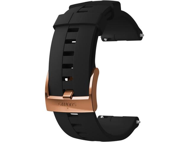 Suunto Athletic 4 Silicone Strap black/copper